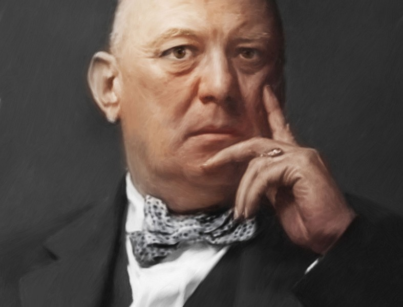 Aleister Crowley Portrait